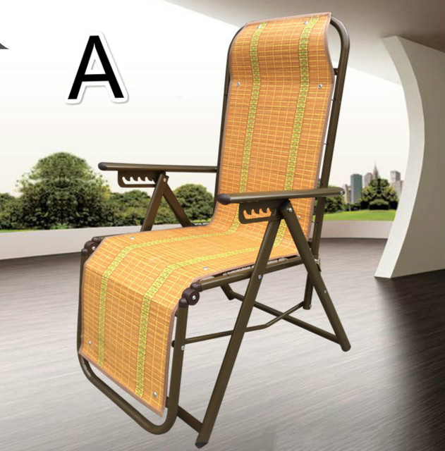 Outdoor chaise lounge chair folding mat