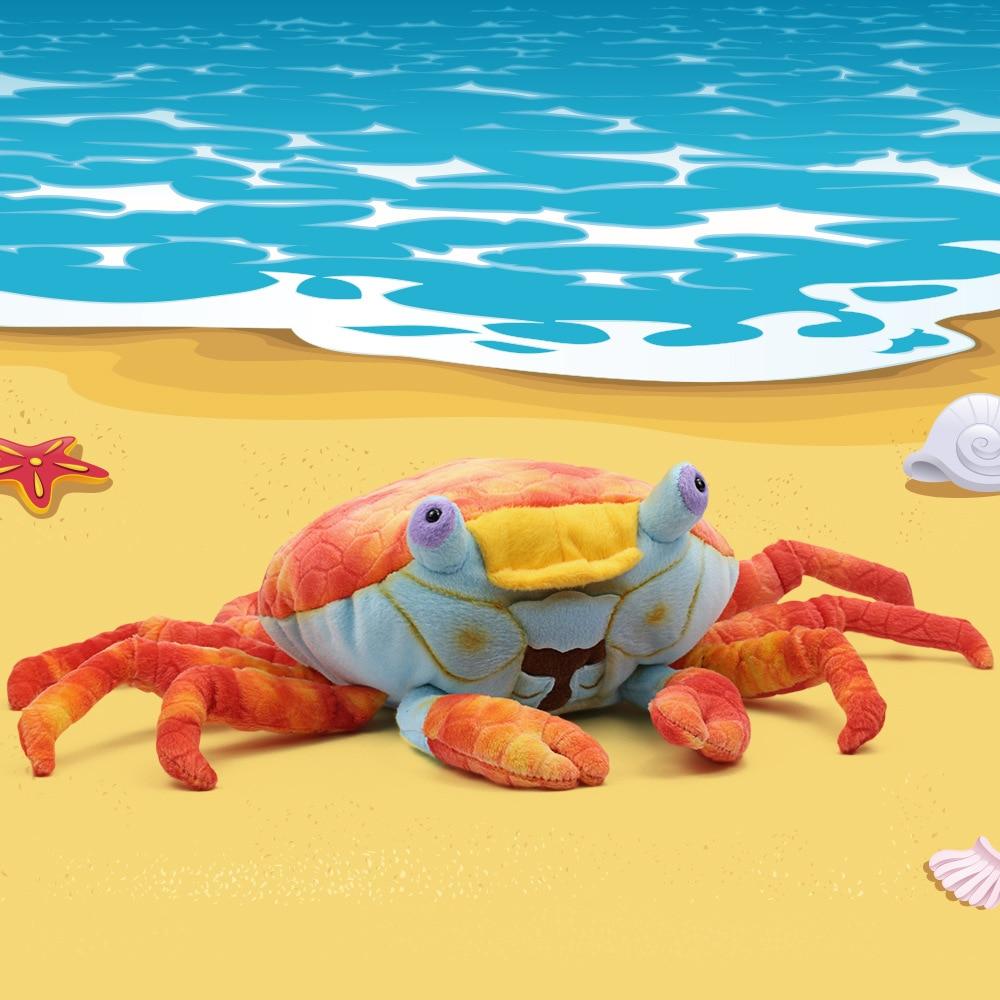 National Geographic sea animals lightfoot crab stuffed & plush toys educational dolls