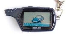 2016 nueva venta caliente Starlionr B9 Starline LCD del mando a distancia por dos de alarma unidireccional del coche Starline B9 llavero versión rusa