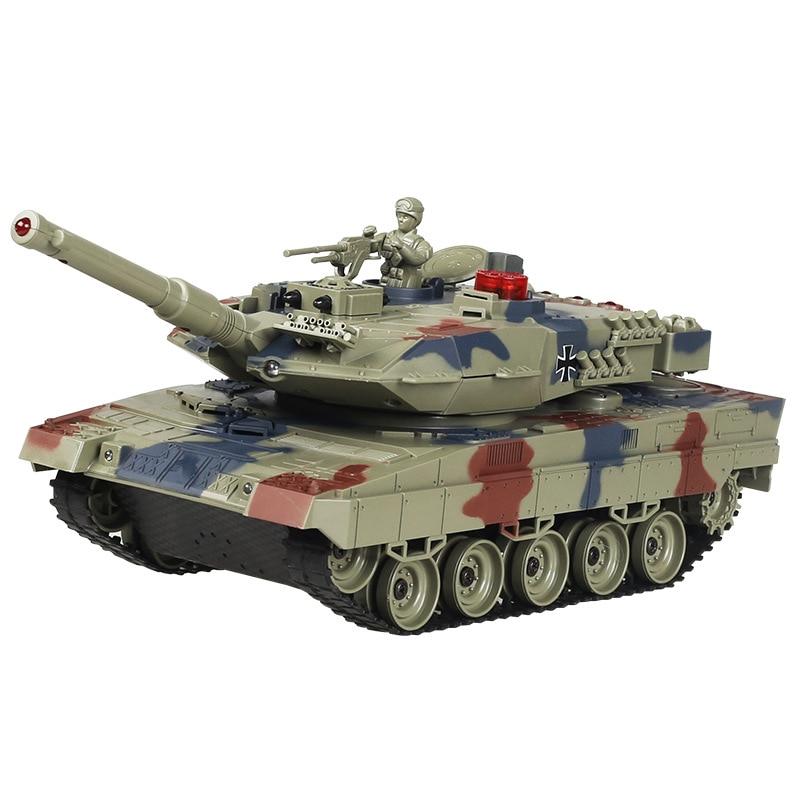 RC Tank 1/20 9CH 27 Mhz infrarouge RC bataille Tiger T90 réservoir canon & Emmagee télécommande réservoir jouets à distance pour les garçons