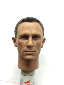 Image 5 - Агент Джеймс Бонд 1/6, головная игра Daniel Craig Head Scuplt, фигурка, игрушки, коллекция BB9002