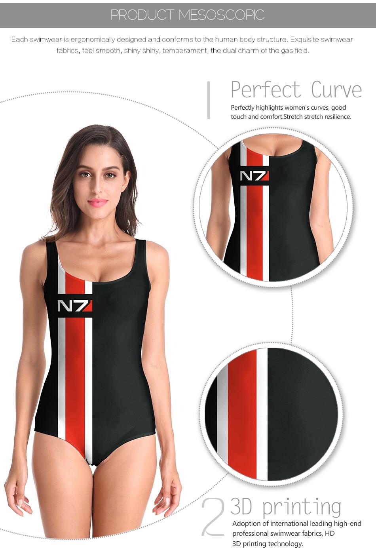 a042d880d7959 New Arrival Beach Wear Sexy Backless Swimwear Women Black White Skull  Skeleton Printed Bathing Suit One Piece Swimsuit CYQ1136USD 9.80/piece