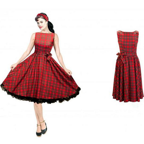 Plus Size 6xl50s 60s 70s Audrey Hepburn Style Retro Rockabilly