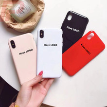 3f9662f945e1 Have LOGO Luxury Silicone Case For Iphone X XR XS MAX 6 S Cases For Iphone