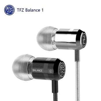 TFZ BALANCE 1 Balance1 Dynamic Wired Earphone Noise Isolating 3.5mm Earphone mobile phone universal In-Ear Earphone 1