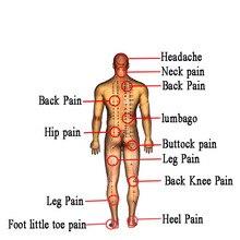 128Pcs/16Bags Muscular Pain Stiff Shoulders Ache Relief Chinese Back Plaster Heat Patch  Cervical Spondylosis Health Care C502