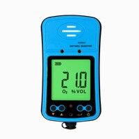 Лидер продаж smart Сенсор as8901 Портативный кислорода Мониторы Air Quality детектор анализатор O2 концентрации измерительный прибор