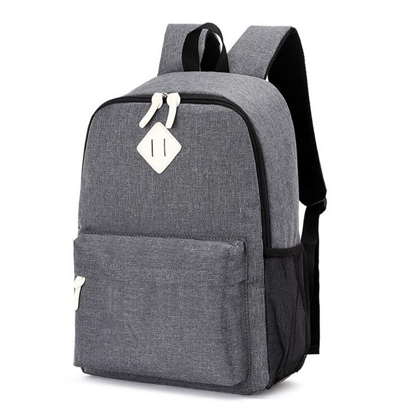 2018 Hot Male Backpacks School Bag Boys For Teenager girls Chain Oxford Waterproof Backpack Men Backpack Casual Nylon backpacks children school bag minecraft cartoon backpack pupils printing school bags hot game backpacks for boys and girls mochila escolar