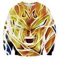 Era Dyehouse 3D Anime Dragon Ball Goku Graphic Printed Crewneck Mens Sweatshirts For Unisex Cartoon Pullover Plus Size 5XL