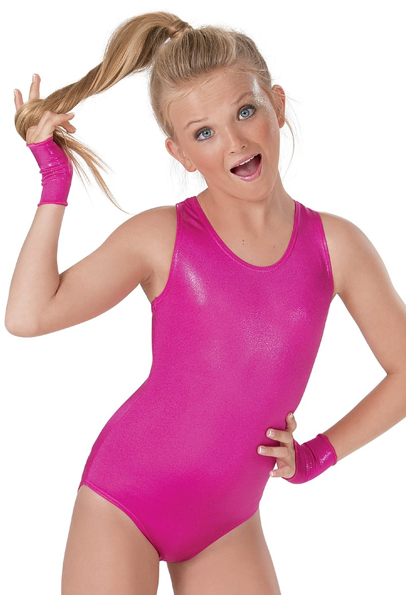 Black spandex dance unitard gymnastics and dancewear - Lzcmsoft Kids Shiny Metallic Girls Ballet Dance Leotards Spandex Gymanastics Dancewear Toddler Stage Performance Leotard