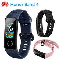 Original Huawei Honor Band 4 Smart Wristband Amoled Color 0.95 Touchpad Swim Posture Detect Heart Rate Sleep Snap Honor Band 4