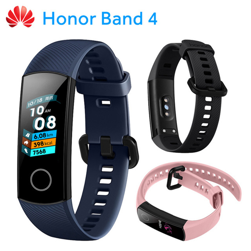 Originale Huawei Honor Fascia 4 Intelligente Wristband Amoled di Colore 0.95