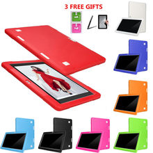 Non-slip tablet eBook Silicone Case Universal Silicone Cover Case For 10 10.1 Inch Android Tablet PC Non-slip silicone case new(China)