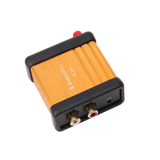 HIFI Bluetooth 4.2 Stereo Audio Receiver Box CSR64215 Digital Amplifier Board