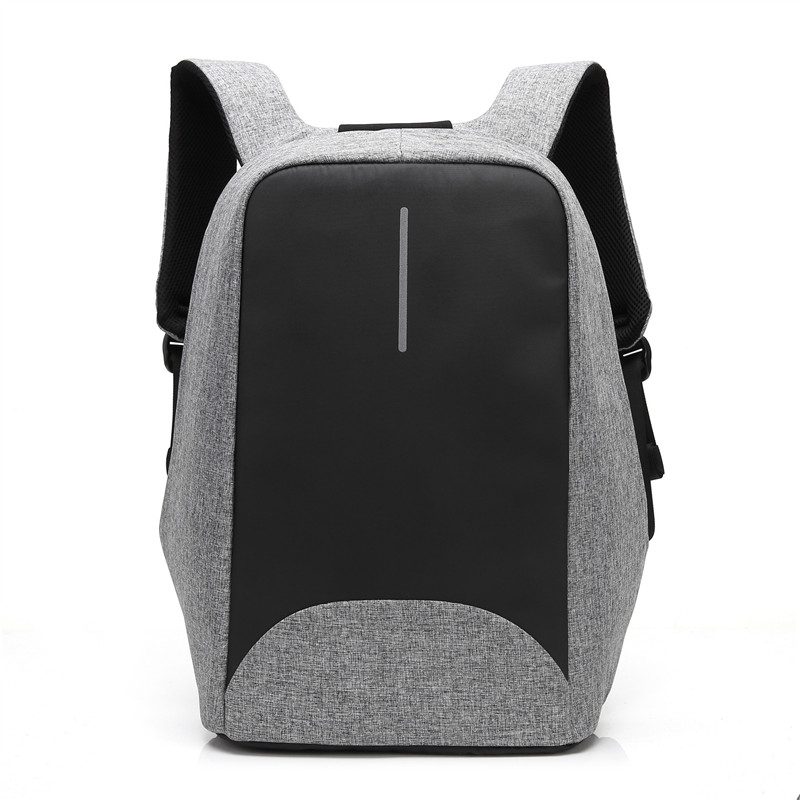 Coolbell Business Backpack with External USB Charging Port and Night Luminous Bar 15.6 Inch Laptop Shockproof Bag for Macbook HP brand coolbell for macbook pro 15 6 inch laptop business causal backpack travel bag school backpack