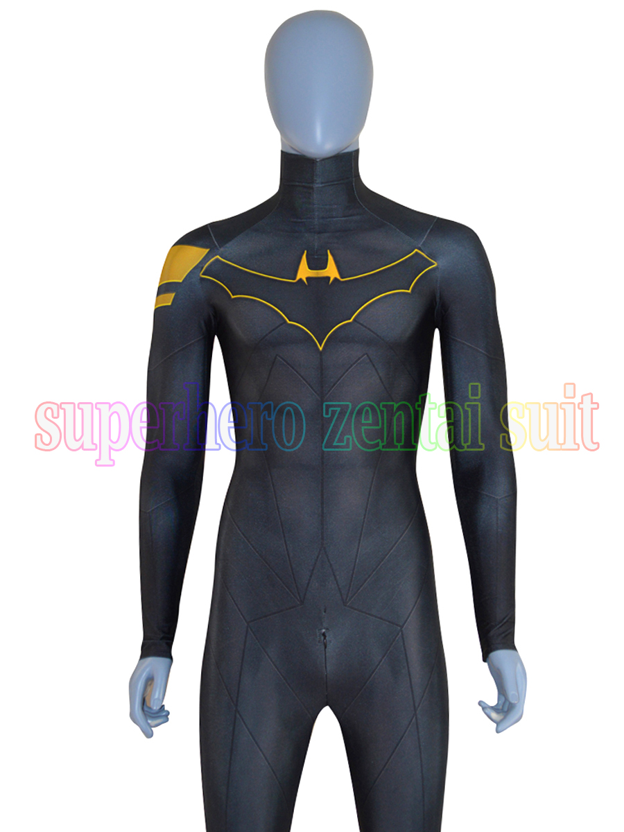 High Quality Batman DoJ costume 3D Print Custom Super Hero Catsuit  Spandex Lycra Halloween Cosplay Costume For Adult Men Kids
