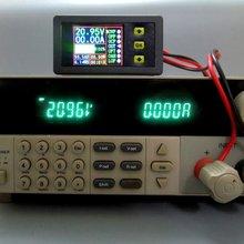 Цифровой мультиметр измеритель заряда и разрядки аккумулятора