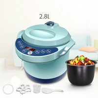 Electric Pressure Cookers Intelligent reservation 2.8l electric pressure cooker 1 3 people mini small