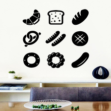 Free shipping fast food Home Decor Modern Acrylic Decoration Removable Wall Sticker Art DIY