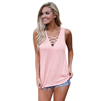 #Summer #Women #Blouse #Sexy Deep V-neck Sleeveless #Tops #Shirts #fashion #girl #grl #boygrl