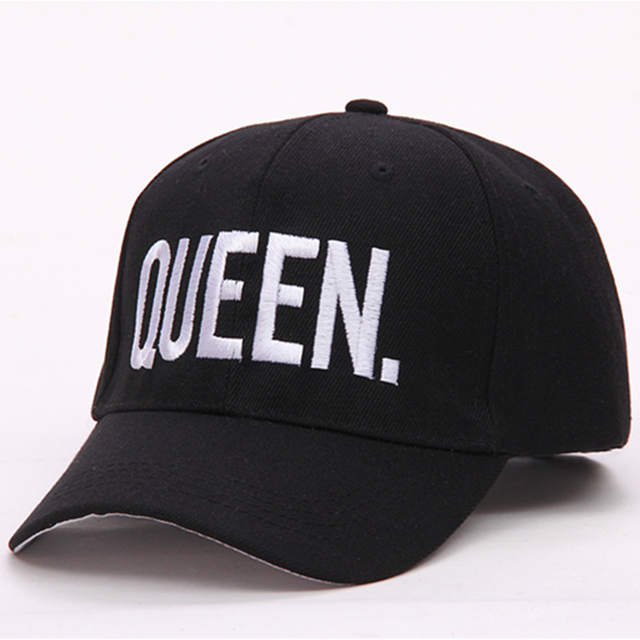 801f2bbbeb placeholder VORON Hot Selling King Queen Letter Embroidery Baseball Cap  Couples Hip Hop Snapback Cap for Man