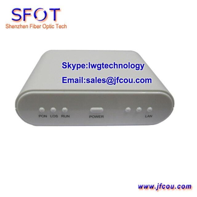 Сетевые Маршрутизаторы Телекоммуникационного Оборудования 1GE EPON ОНУ ОНТ, с PPPoE функция, соблюдать Huaway, ZTE, Fiberhome OLT
