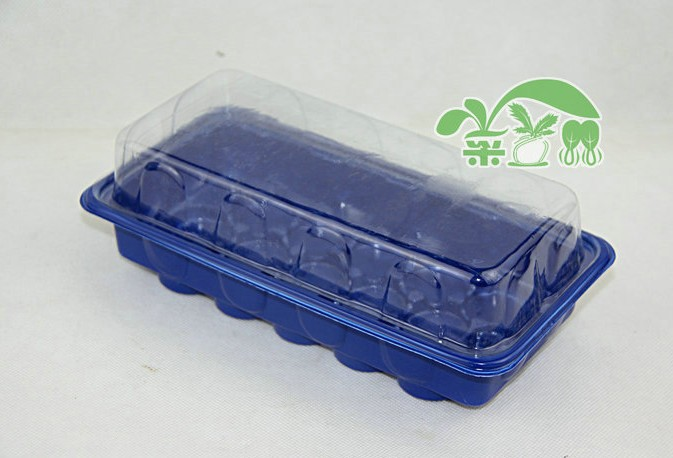 Free shipping.2 set/lot, Hight quality.nursery box,15 hole/ box nursery pots seedling tray,garden supplies.container pot