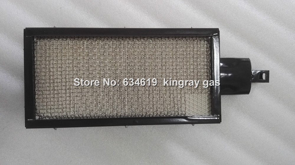 stainless steel net infrared gas burner high quality enamelled gas burner for bbq grill and oven