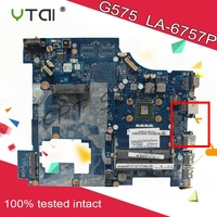 LA 6757P For Lenovo G575 motherboard PAWGD LA 6757P Rev:1.0 onboard CPU 2 DDR3 slot, test and free shipping 100% tested intact