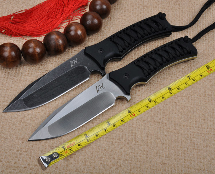 HOT Tactical Knife LW Fixed D2 Blade Knife G10 Handle With Kydex Sheath Hunting Survival Knives Camping Knifes Outdoor Tools l1  цены