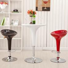 European - style lifting high stool modern minimalist bar stool mobile phone shop stool bar chair home high bar chair chair shop study stool art classroom bar household furniture white black brown color