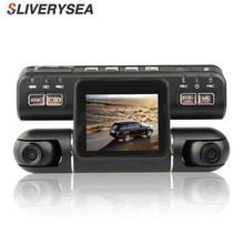 Range Tour Dual Lens Car DVR Camera Video Recorder I4000 HD 720P 320 Degree 2.0 Inch LCD G-Sensor Dash Cam 32GB TF Card