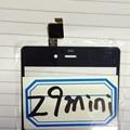 Para zte nubia z9 mini nx511 pantalla táctil digitalizador panel de accesorios para smartphone nubia nx511 shipping + número de pista