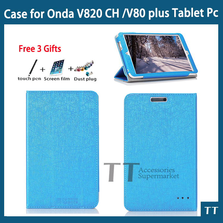 Newset Colorful High Quality Fashion Case Cover For Onda V80 Plus/V820W/V820W CH + Screen Protector Gifts