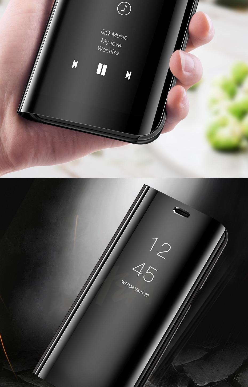 HTB1qEqdaXzsK1Rjy1Xbq6xOaFXaM H & A Clear View Smart Spiegel Telefon Fall Für Samsung Galaxy S9 S8 S7 S6 Rand Plus Hinweis 8 9 für A3 A5 A7 A8 2017 J3 J7 2018 Fall