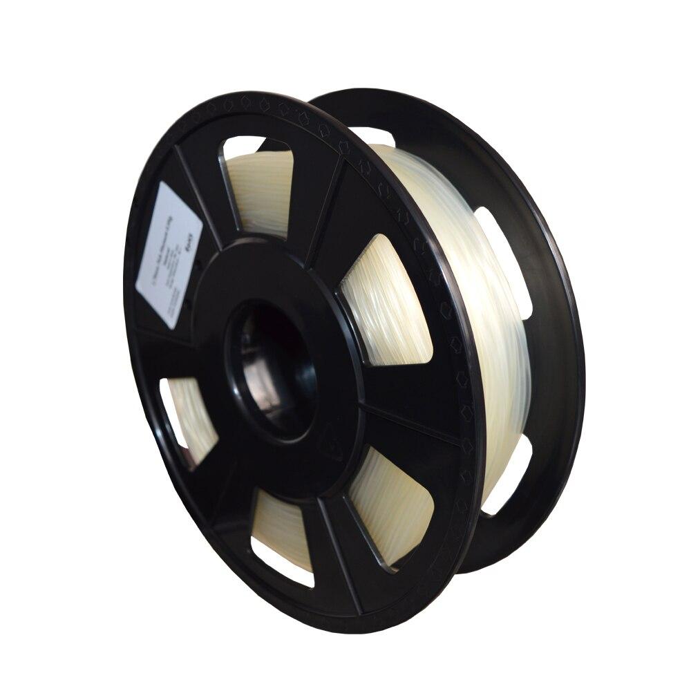 PVA 3D printer filament 1.75mm / 3.00mm PVA water soluble plastic for 3d printer 500g / roll flsun 3d printer big pulley kossel 3d printer with one roll filament sd card fast shipping