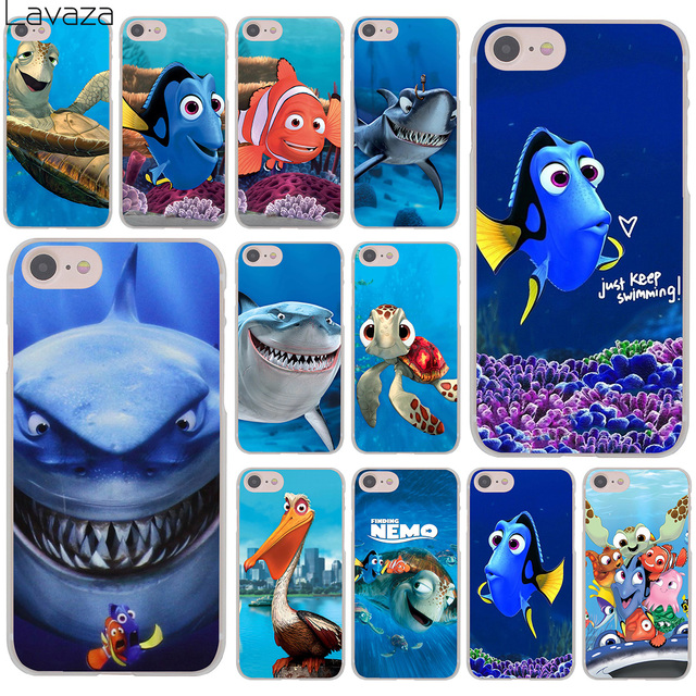 separation shoes 37c7d bd5c0 US $2.55  Lavaza Finding Nemo Marlin Dory Nem film Hard Cover Case for  iPhone X XS Max XR 6 6S 7 8 Plus 5 5S SE 5C 4S 10 Phone Cases 8Plus-in ...