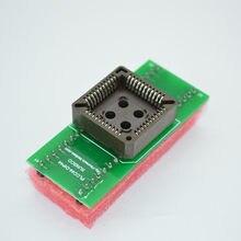 2pcs PLCC44 per DIP44 IC Adattatore Presa di Tester/PLCC44-DIP44 Semplice Programmatore Universale Adattatore IC/IC Convertitore/ zoccoli IC