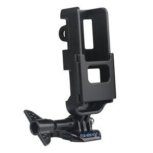 Image 3 - マウントブラケットホルダーdji osmoポケットジンバルカメラハウジングシェルケースカバーアクションカムのためのマウント三脚バックパック胸ベルト