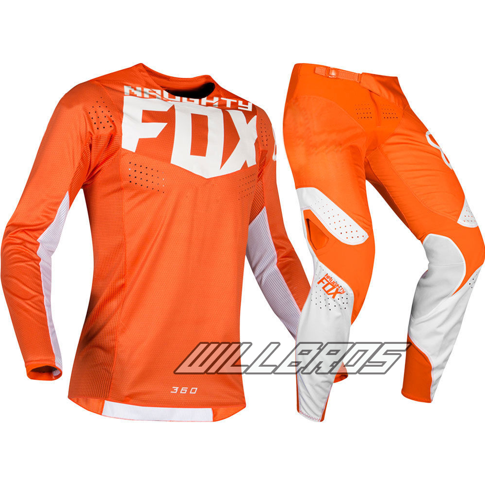 MX 360 Kila Motocross Jersey pantalon Combo moto Dirt Bike ATV course Orange ensemble de vitesse