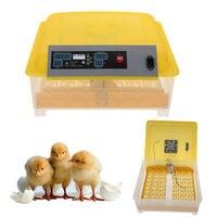 새로운 48 계란 디지털 인큐베이터 가금류 치킨 달걀 완전 자동 해쳐 터 닝
