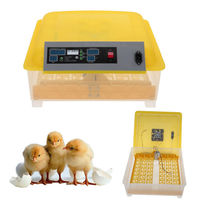 New 48 Egg Digital Incubator Poultry Chicken Egg Turning Fully Automatic Hatcher
