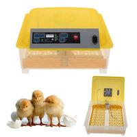 Ev Aletleri'ten Mutfak Robotları'de Yeni 48 Yumurta Dijital Inkübatör Kümes Hayvanları Tavuk Yumurta Dönüm Tam Otomatik Hatcher