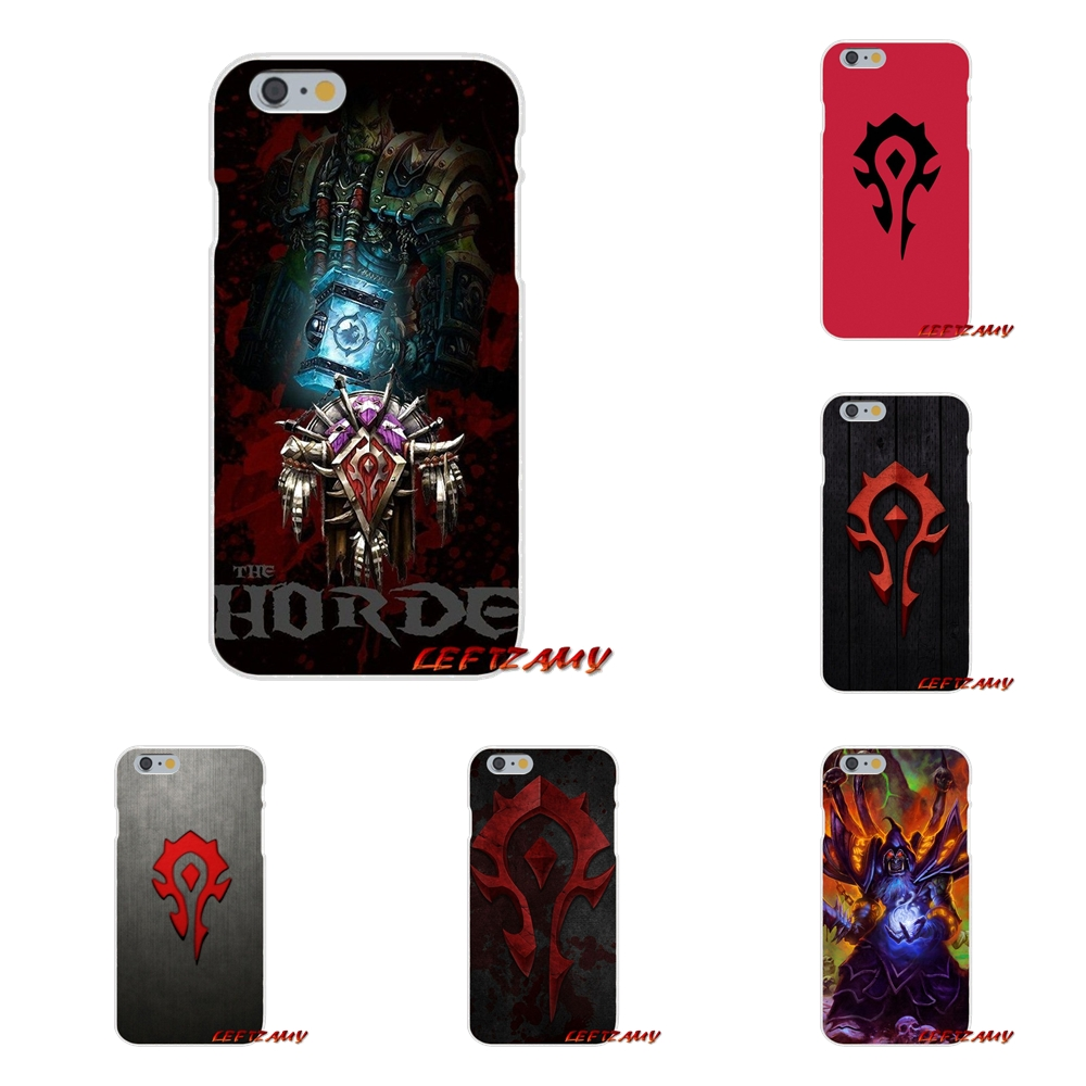 For <font><b>Huawei</b></font> P <font><b>Smart</b></font> Mate Y6 Pro P8 P9 P10 <font><b>Nova</b></font> P20 Lite Pro Mini 2017 WOW World of Warcraft horde logo TPU Transparent <font><b>Case</b></font> Cover