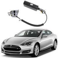Für Tesla Model S Elektrische saug tür Automobil umgerüstet automatische schlösser Auto zubehör Intelligenz Saug tür