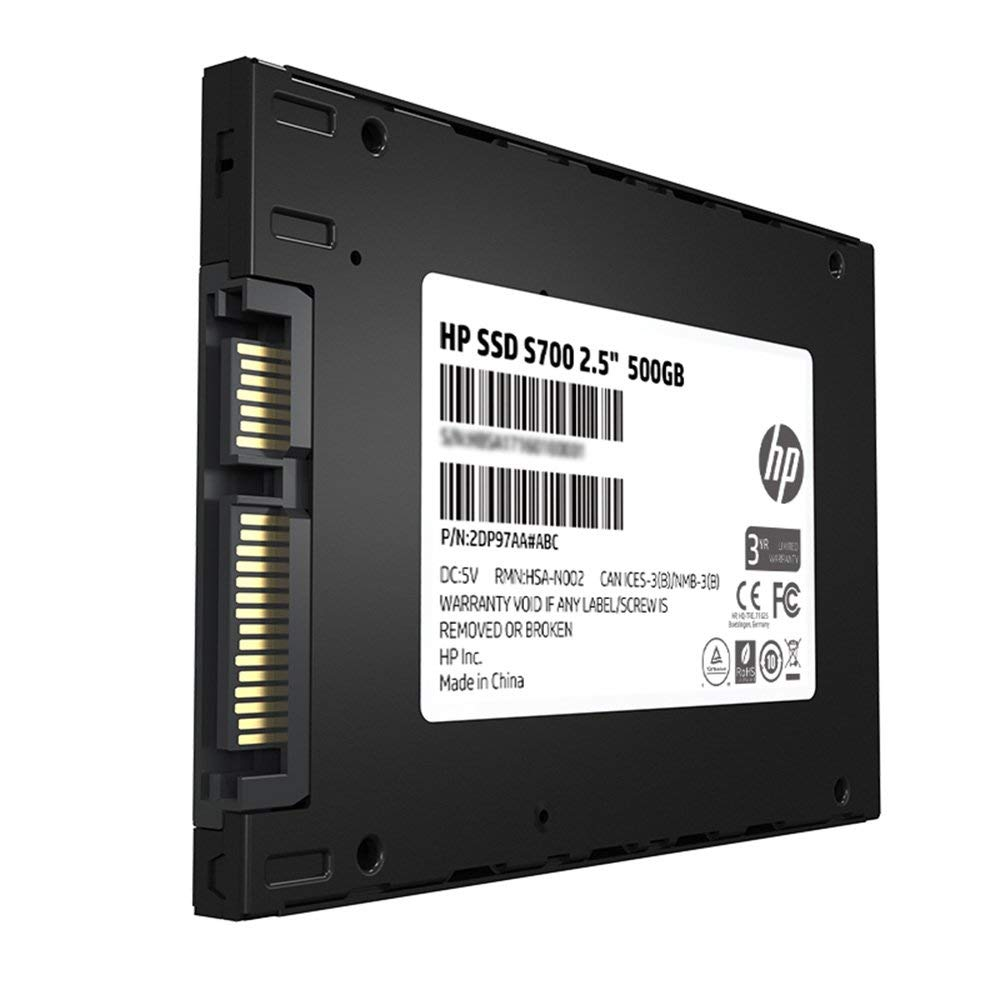 HP SSD S700 2.5 500GB SATA III 3D NAND Internal Solid State Drive Hard Drive HDD Disk for laptop computer ssd mini sata3 500gb (3)