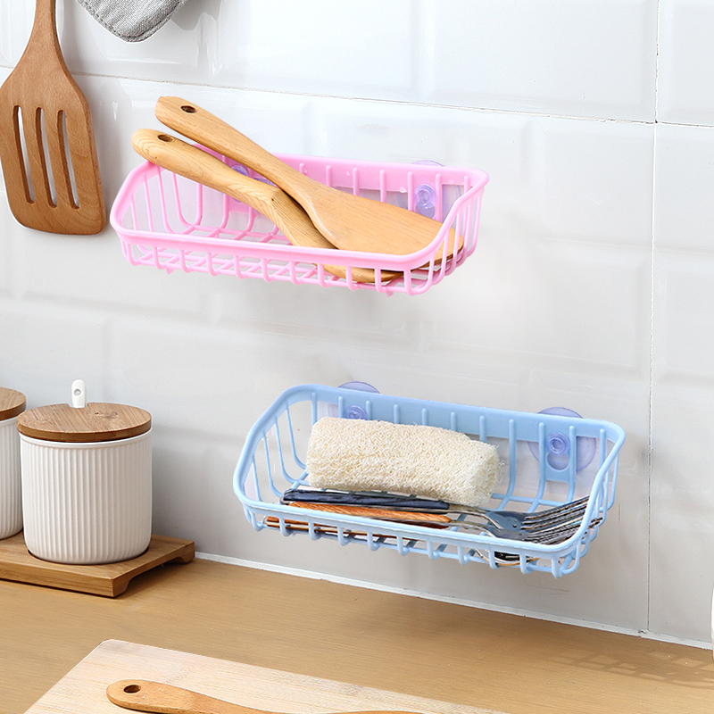 HBW Wall Mounted Kitchen Racks  Hanging Dish Drainer  Kitchen Shelf