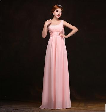 Aliexpress.com : Buy 2015 one shoulder bridesmaid dress long ...