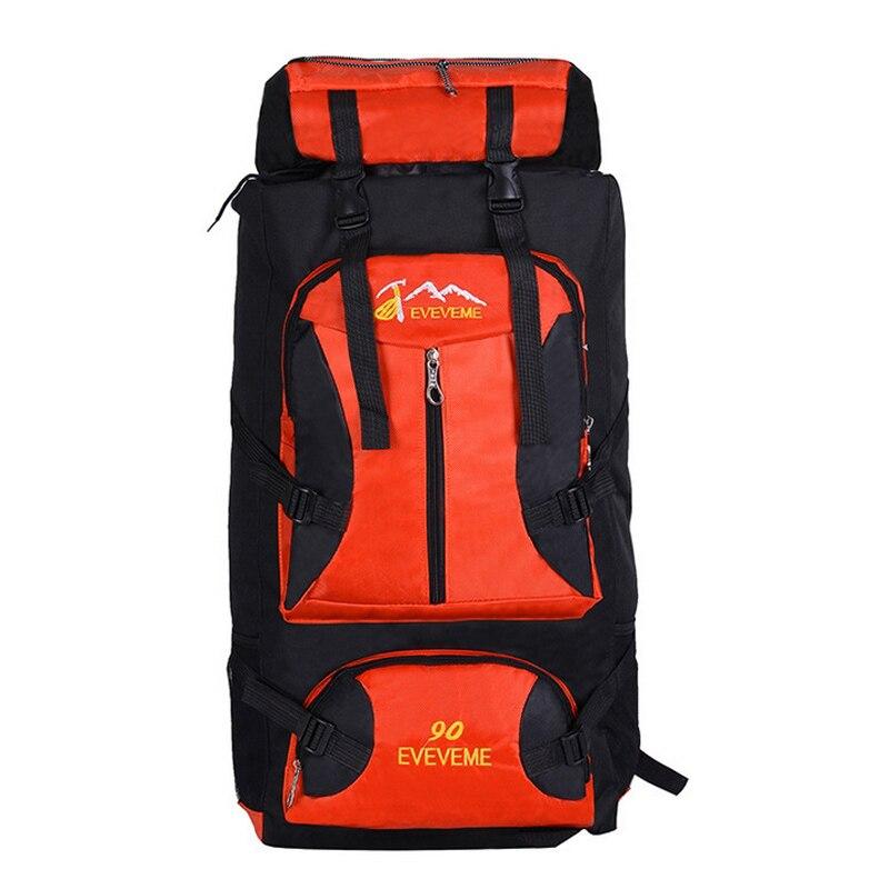 Large 90L Outdoor Backpack Unisex Travel Multi-purpose climbing backpacks Hiking big capacity Rucksacks camping sports bags