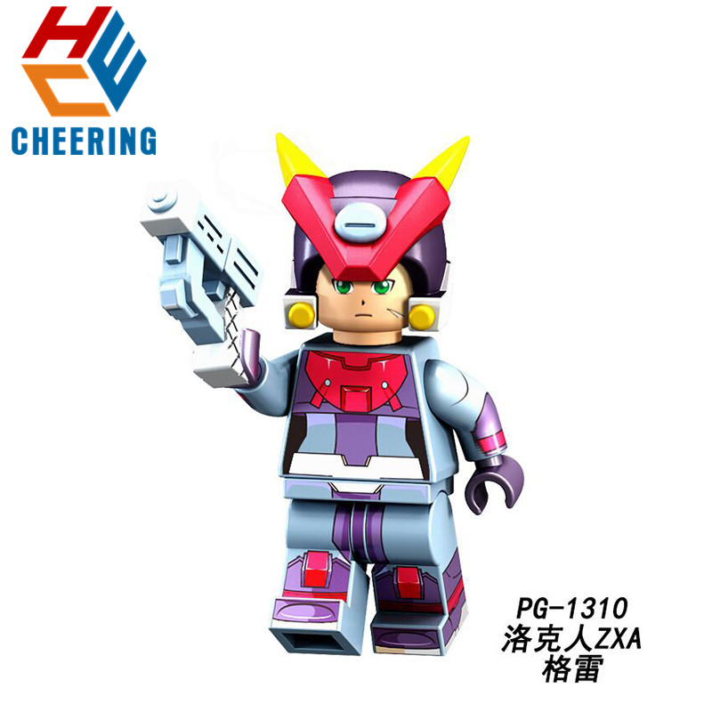 Alert 20pcs Wholesales Building Blocks Series Yuanzu Rockman Ax Light Hot Bucket Meteor Action Bricks Figures For Children Toys Pg8137 Model Building